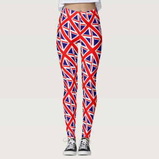 United Kingdom Union Jack Flag Leggings