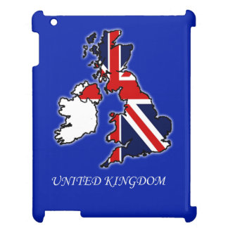 United Kingdom Union Jack Flag Map iPad Mini Case