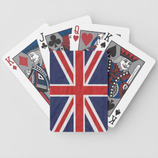 United Kingdom Union Jack Flag Playing Cards Bicycle Playing Cards