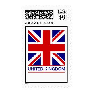 United Kingdom - Union Jack Flag Postage Stamp