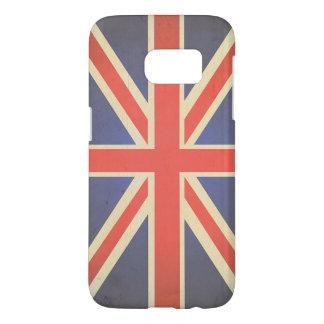 United Kingdom Union Jack Flag Samsung Galaxy S7 Case