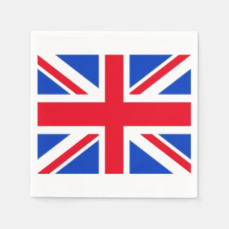 United Kingdom Union Jack Paper Party Napkins