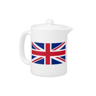 United Kingdom Union Jack Teapot