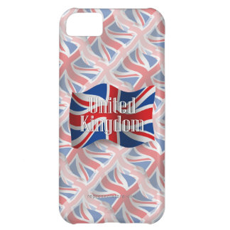 United Kingdom Waving Flag Case For iPhone 5C