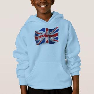 United Kingdom Waving Flag Hoodie