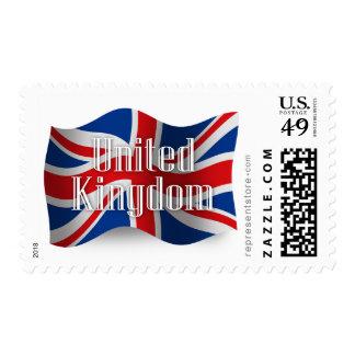 United Kingdom Waving Flag Stamp