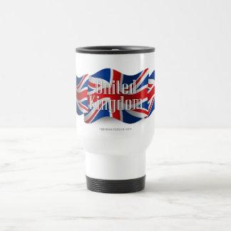 United Kingdom Waving Flag Travel Mug