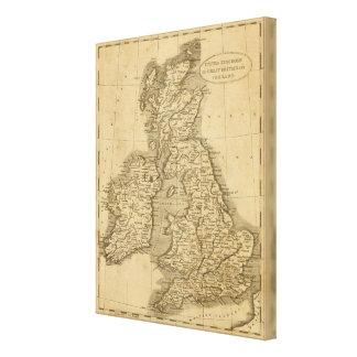 United Kingdoms Canvas Print