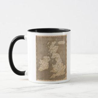 United Kingdoms Map by Arrowsmith Mug