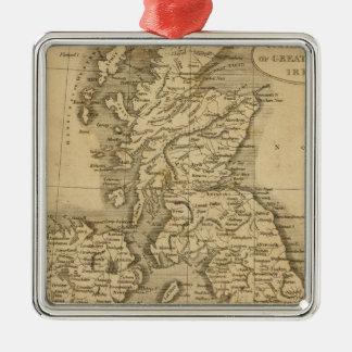 United Kingdoms Metal Ornament