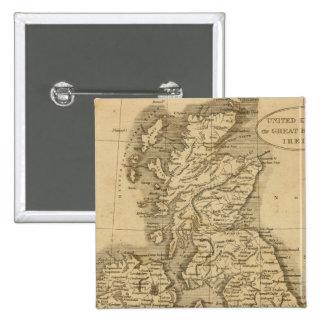 United Kingdoms Pinback Button