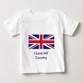 United Kingdon Flag The MUSEUM Zazzle Baby T-Shirt