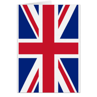 United Kingdon Flag The MUSEUM Zazzle Card