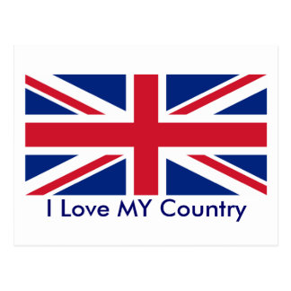United Kingdon Flag The MUSEUM Zazzle Postcard