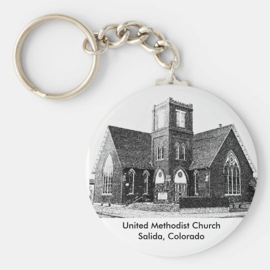 United Methodist Church Keychain