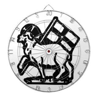 United Moravian Symbol Dart Board