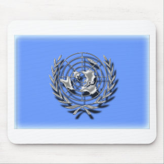 United Nations (artistic flag) Mouse Pad