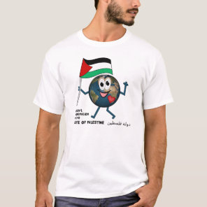 United Nations bid for state of Palestine دولة فلس T-Shirt
