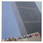 United Nations building Ceramic Tile