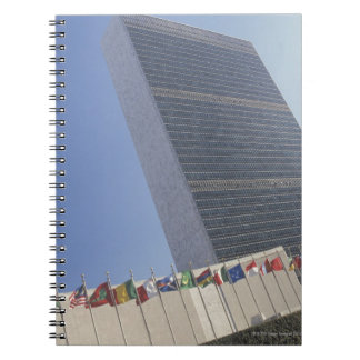 United Nations building Spiral Notebook
