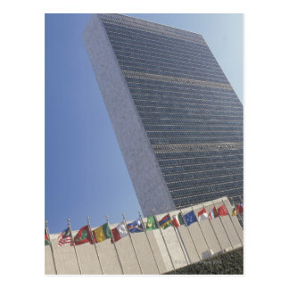 United Nations building Postcard