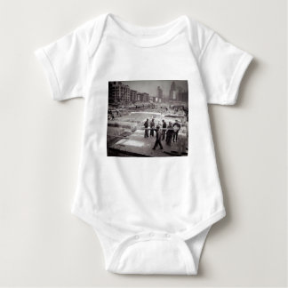 United Nations Construction Site East Side NYC Baby Bodysuit