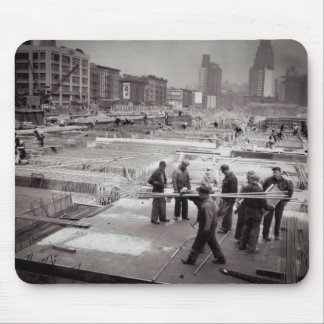 United Nations Construction Site East Side NYC Mouse Pad