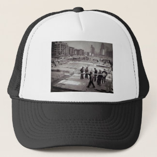 United Nations Construction Site East Side NYC Trucker Hat