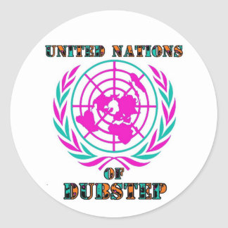 united nations dubstep sticker