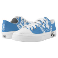 United Nations Flag - Printed Shoes