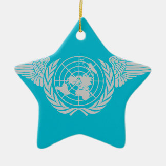 United Nations Forces2 Ceramic Ornament