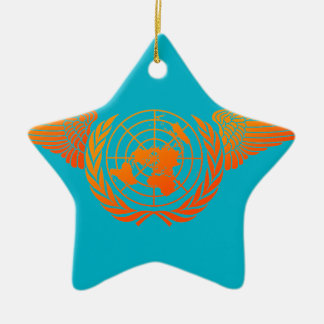 United Nations Forces3 Ceramic Ornament