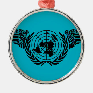 United Nations Forces Metal Ornament