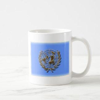 United Nations Gold (artistic flag) Coffee Mug