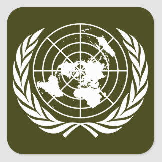 United Nations Square Sticker