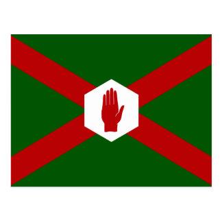 United Northern Ireland Bland flag Postcard