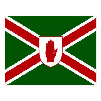 United Northern Ireland Shield flag Postcard