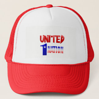 UNITED-One Nation Trucker Hat