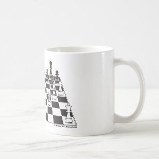 United Pawns Check Mate King Chess Board Set Game Coffee Mug