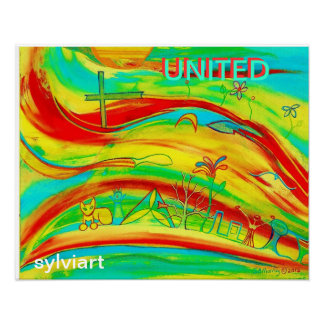 UNITED -Poster- copyright ©2011 -SylviART