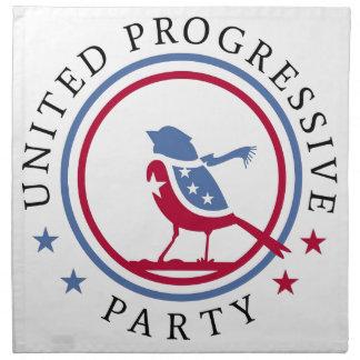 United Progressive Party Scarf Logo Merchandise Napkin