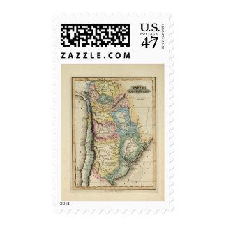 United Provinces 2 Postage Stamp
