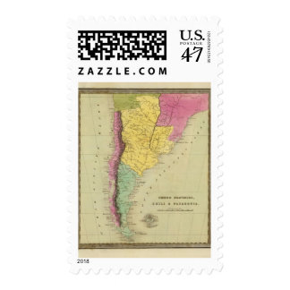 United Provinces, Chile and Patagonia Postage Stamp