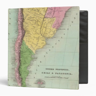 United Provinces, Chili and Patagonia 3 Ring Binder