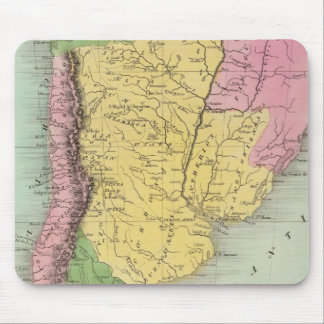 United Provinces, Chili and Patagonia Mouse Pad