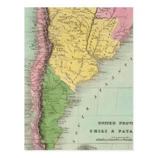 United Provinces, Chili and Patagonia Postcard