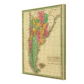 United Provinces, Chili, Patagonia Canvas Print