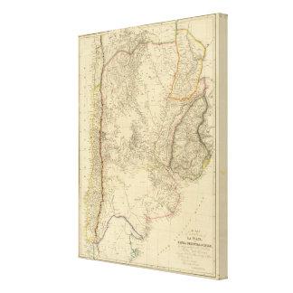 United Provinces of La Plata, Banda Oriental Canvas Print