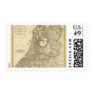 United Provinces Postage Stamp