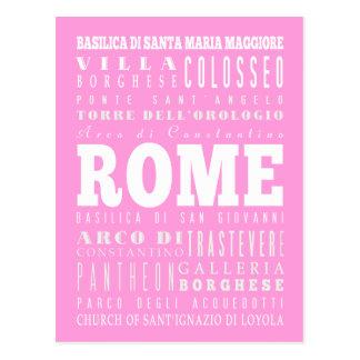 United Rome, Italy Gift Idea Postcard
